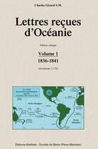 Couverture du livre « Lettres reçues d'Océanie » de Charles S. M. Girard aux éditions Karthala