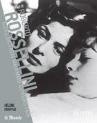 Couverture du livre « Roberto Rossellini » de Helene Frappat aux éditions Cahiers Du Cinema