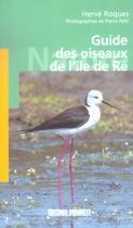 Couverture du livre « Aed guide des oiseaux de l'ile de re » de Herve Roques aux éditions Sud Ouest Editions