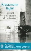 Couverture du livre « Journal de l'année du désastre » de Kathrine Kressmann Taylor aux éditions J'ai Lu