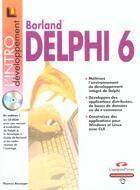 Couverture du livre « Delphi 6 » de Thomas Binzinger aux éditions Campuspress