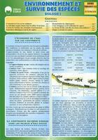 Couverture du livre « Biologie t.3 ; environnement et survie des espèces » de Regis Demounem aux éditions Eska