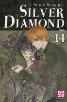 Couverture du livre « Silver diamond t.14 ; mots » de Shiho Sugiura aux éditions Kaze