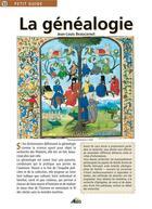 Couverture du livre « La généalogie » de Collectif aux éditions Aedis