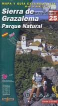 Couverture du livre « E-25 sierra de grazalema - 1/25.000 » de  aux éditions Alpina