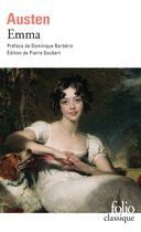 Couverture du livre « Emma » de Jane Austen aux éditions Gallimard