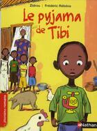 Couverture du livre « Le pyjama de Tibi » de Zidrou et Frederic Rebena aux éditions Nathan