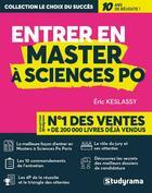 Couverture du livre « Entrer en master à Sciences Po » de Eric Keslassy aux éditions Studyrama
