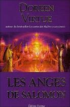 Couverture du livre « Les anges de Salomon » de Doreen Virtue aux éditions Courrier Du Livre