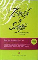 Couverture du livre « Brush'n'script » de Schmidt aux éditions Hermann Schmidt