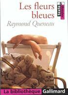 Couverture du livre « Les fleurs bleues » de Raymond Queneau aux éditions Gallimard