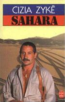 Couverture du livre « Sahara » de Zyke-C aux éditions Lgf