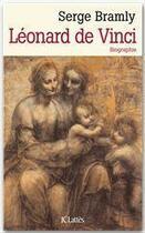 Couverture du livre « Léonard de Vinci » de Serge Bramly aux éditions Jc Lattes
