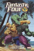 Couverture du livre « Fantastic Four T.4 ; la Chose vs l'immortel Hulk » de Stefano Caselli et Dan Slott et Gerry Duggan et Mike Carey et Sean Izaakse aux éditions Panini