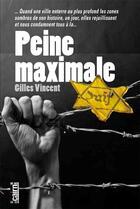 Couverture du livre « Peine maximale » de Gilles Vincent aux éditions Cairn