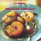 Couverture du livre « Les Menus Vitesse » de Elle aux éditions Filipacchi