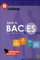 Couverture du livre « Après le bac ES » de Collectif aux éditions Onisep