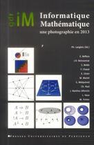 Couverture du livre « Informatique Mathematique » de Langlois Philip aux éditions Pu De Perpignan