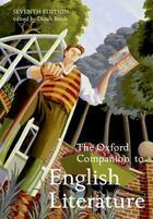 Couverture du livre « The Oxford Companion to English Literature » de Dinah Birch aux éditions Oup Oxford