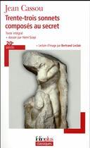 Couverture du livre « Trente-trois sonnets composés en secret » de Jean Cassou aux éditions Gallimard