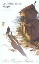 Couverture du livre « Les misérables » de Victor Hugo et Monique Bouchard aux éditions Hachette Education