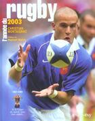 Couverture du livre « L'année du rugby 2003 (édition 2003) » de Christian Montaignac aux éditions Calmann-levy