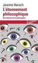 Couverture du livre « L'etonnement philosophique » de Jeanne Hersch aux éditions Gallimard