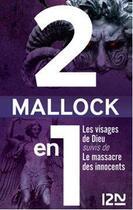 Couverture du livre « Les visages de dieu ; le massacre des innocents » de Mallock aux éditions Glenat
