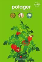 Couverture du livre « Potager » de Sophie Lamoureux aux éditions Gallimard-jeunesse