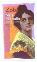 Couverture du livre « Naïs Micoulin » de Émile Zola aux éditions Flammarion