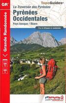 Couverture du livre « Pyrénées occidentales » de Collectif aux éditions Ffrp