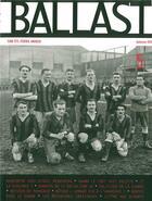 Couverture du livre « Revue ballast n5 » de Collectif aux éditions Aden Belgique