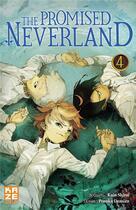 Couverture du livre « The promised Neverland T.4 » de Kaiu Shirai et Posuka Demizu aux éditions Kaze