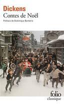 Couverture du livre « Contes de Noël » de Charles Dickens aux éditions Gallimard
