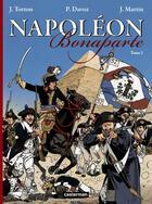 Couverture du livre « Napoléon Bonaparte t.2 » de Jacques Martin et Jean Torton et Pascal Davoz aux éditions Casterman