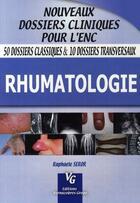 Couverture du livre « Rhumatologie » de Seror aux éditions Vernazobres Grego
