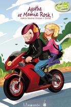 Couverture du livre « Agathe et Mamie Rock » de Valerie Weishar-Giuliani aux éditions Limonade