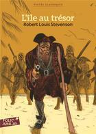 Couverture du livre « L'île au trésor » de Robert Louis Stevenson aux éditions Gallimard-jeunesse
