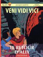 Couverture du livre « Alix T.37 ; veni vidi vici » de Jacques Martin et David B. et Giorgio Albertini aux éditions Casterman