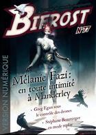 Couverture du livre « REVUE BIFROST T.77 ; dossier Mélanie Fazi » de Revue Bifrost aux éditions Le Belial