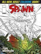Couverture du livre « Spawn ; adult coloring book » de Todd Mcfarlane aux éditions Image Comics