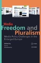 Couverture du livre « Media Freedom and Pluralism » de Beata Klimkiewicz aux éditions Central European University Press