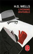 Couverture du livre « L'homme invisible » de Herbert George Wells aux éditions Lgf