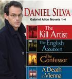 Couverture du livre « Daniel Silva GABRIEL ALLON Novels 1-4 » de Daniel Silva aux éditions Penguin Group Us