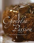 Couverture du livre « Chocolat passion » de Collectif aux éditions Parragon