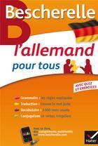 Couverture du livre « L'allemand pour tous » de Anne Larrory et Rene Metrich aux éditions Hatier
