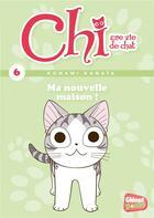 Couverture du livre « Chi ; une vie de chat T.6 ; ma nouvelle maison » de Kanata Konami et Jerome Cousin et Petronille aux éditions Glenat Jeunesse