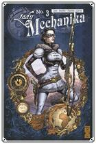 Couverture du livre « Lady Mechanika T.3 ; les tablettes du destin » de Marcia Chen et Martin Montiel et Joe Benitez aux éditions Glenat Comics