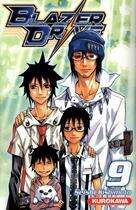 Couverture du livre « Blazer drive t.9 » de Seishi Kishimoto aux éditions Kurokawa