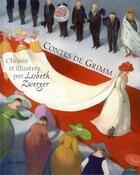 Couverture du livre « Contes de Grimm » de Lisbeth Zwerger et Jacob Grimm et Wilhelm Grimm aux éditions Mineditions